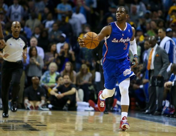 Los Angeles Clippers point guard Chris Paul