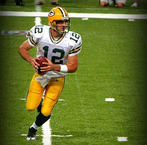 Quarterback Aaron Rodgers