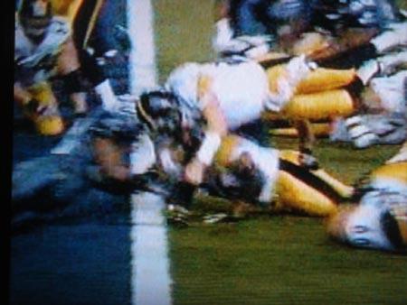 Ben Rothlisberger's touchdown