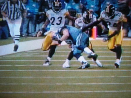 Hasselbeck's tackle