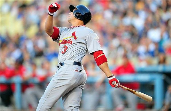 St. Louis Cardinals right fielder Carlos Beltran