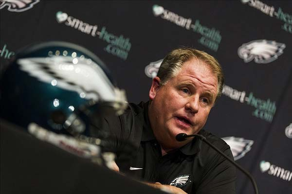 Eagles new head coach Chip Kelly