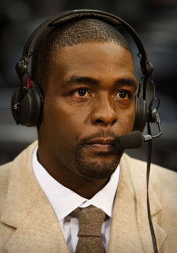 Former NBA player Chris Webber.