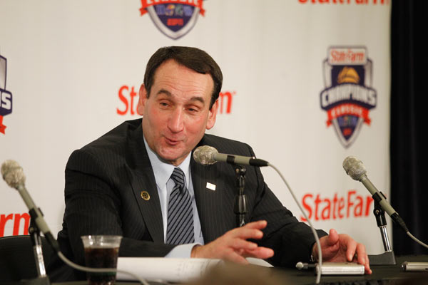 Coach K Passes Bobby Knight With Most Wins Ever