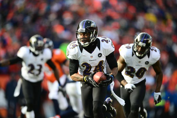 Baltimore Ravens Cornerback Corey Graham