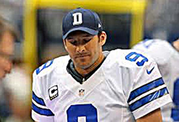 Dallas Quarterback Tony Romo