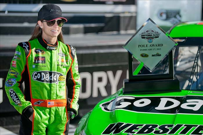 Sprint Cup Series Driver Danica Patrick