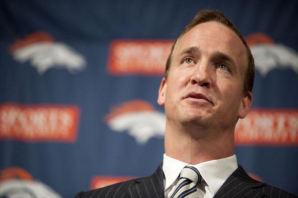 Former Colt Peyton Manning