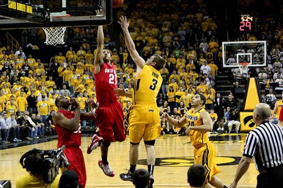 Iowa Hawkeye vs. Ohio Buckeyes.