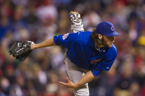 Chicago Cubs pitcher James Russell