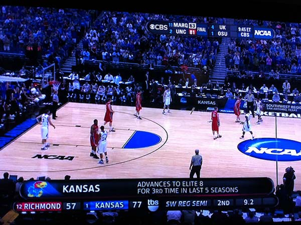 Jayhawk into Elite 8