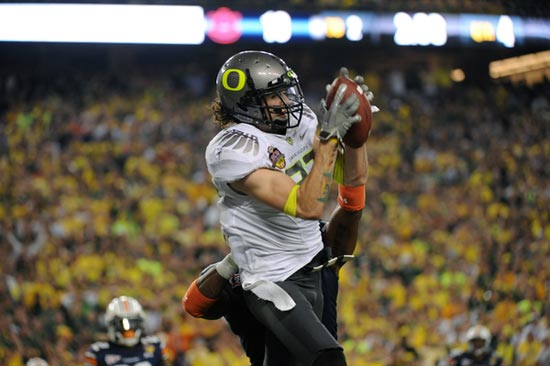 Oregon Ducks WR Jeff Maehl.