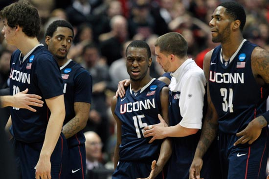 Kemba Walker of the UConn Huskies