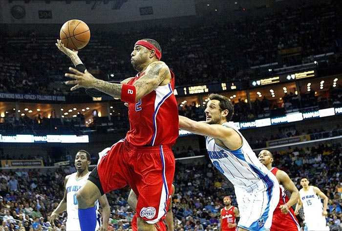 Los Angeles Clippers forward Kenyon Martin