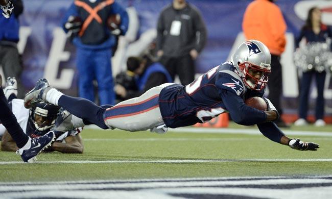 New England Patriots wide receiver Brandon Lloyd