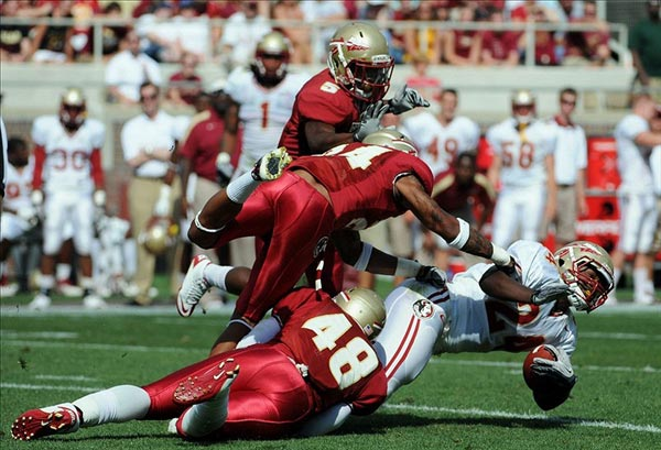 Florida State Seminoles running back Lonnie Pryor