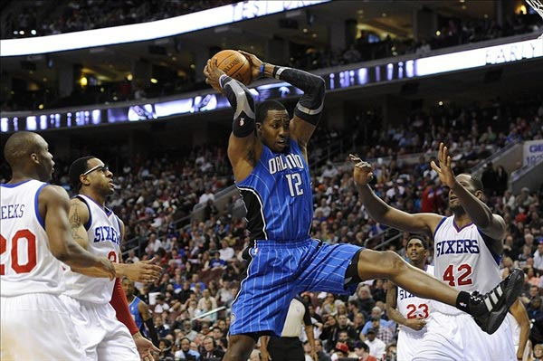 Orlando Magic center Dwight Howard