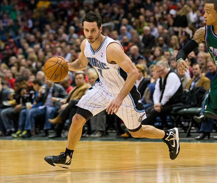 Orlando Magic guard J.J. Redick during the game against the Milwaukee Bucks