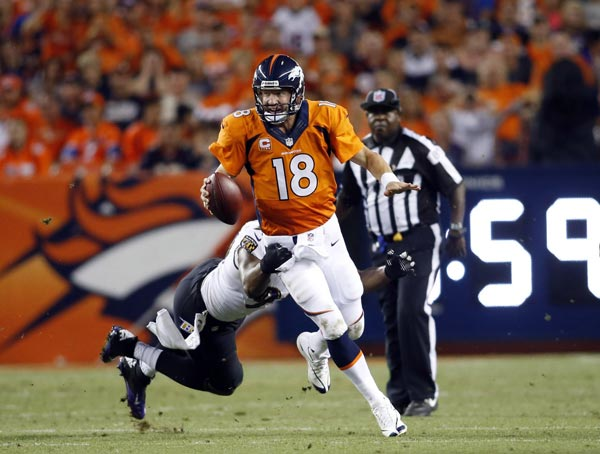 Peyton Manning and His March on the Record Books
