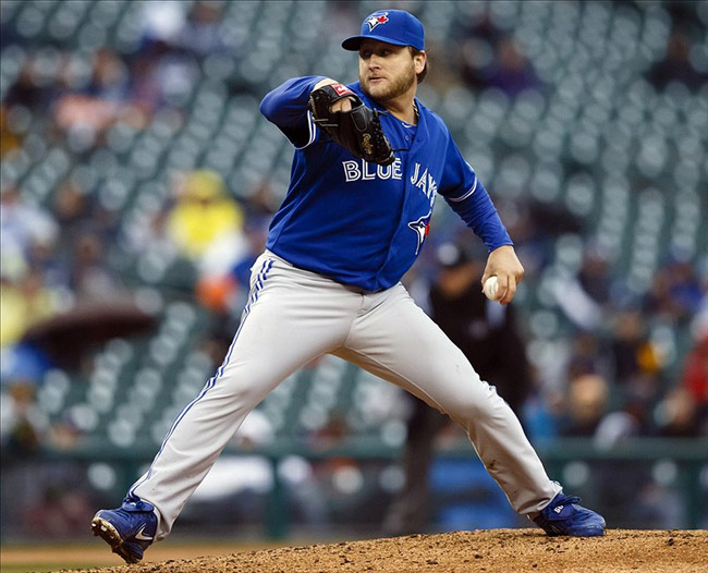 Toronto Blue Jays starting pitcher Mark Buehrle
