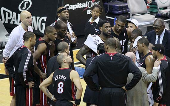 2010-11 Miami Heat team