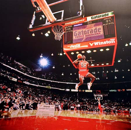 Shooting Guard: Michael Jordan
