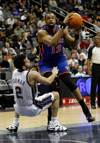 New York Knicks power forward Shelden Williams