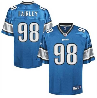 Nick Fairley Jersey