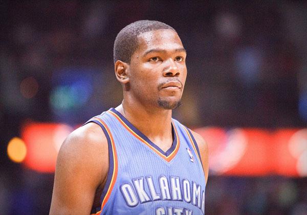 Oklahoma City's Kevin Durant