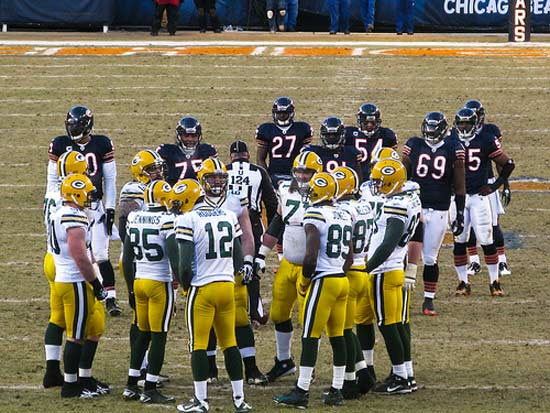 Packers vs Bears