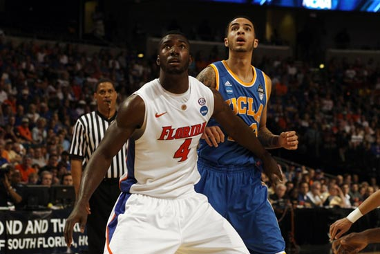 Patric Young of the Florida Gators.