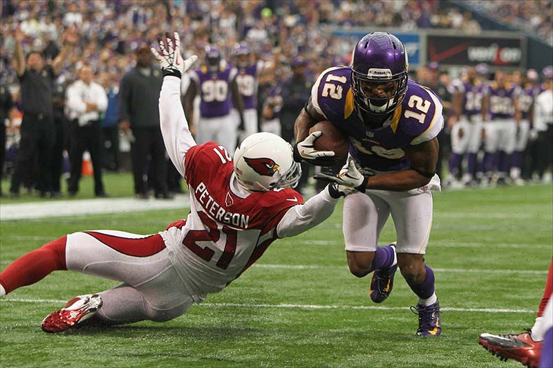Minnesota Vikings Wide Receiver Percy Harvin