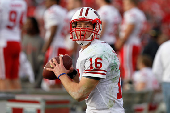 Wisconsin Badgers quarterback Scott Tolzien.