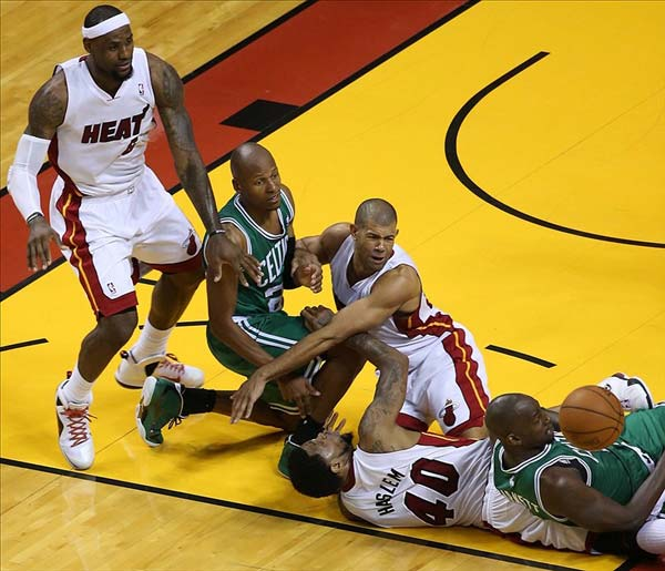 Breaking Down the NBA Eastern Conference in 2012 - 2013