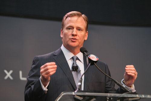 NFL's commissioner Roger Goodell