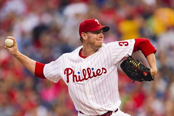 Philadelphia Phillies Pitcher Roy Halladay