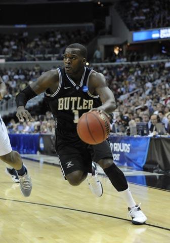 Shelvin Mack of the Butler Bulldogs
