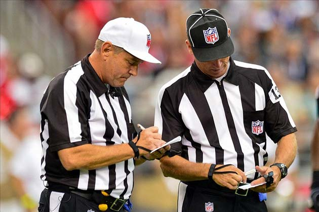 The NFL's Replacement Refs Debacle