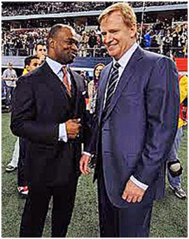 DeMaurice Smith and Commissioner Roger Goodell