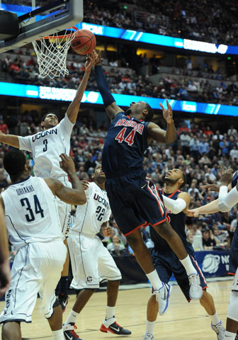 Forward Solomon Hill of the Arizona Wildcats