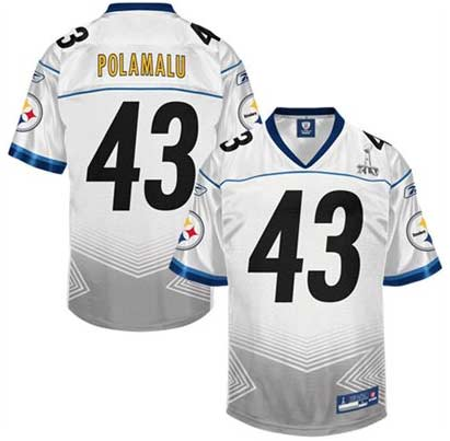 finest selection 687d2 66e28 Troy Polamalu Jersey