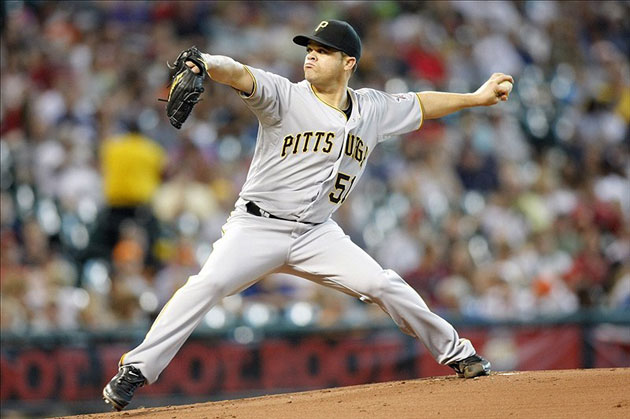 Pittsburgh Pirates starting pitcher Wandy Rodriguez