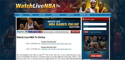 Watch Live NBA TV