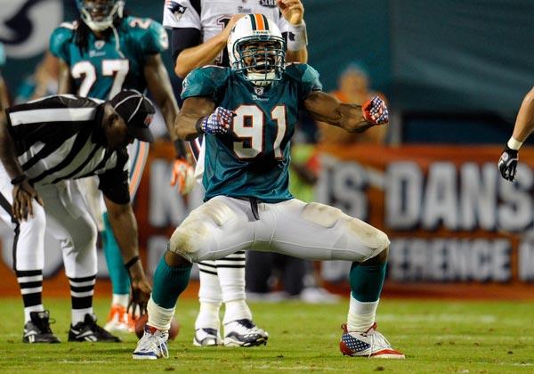 Miami Dolphins linebacker Cameron Wake