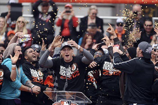 Magic of the 2012 San Francisco Giants Championship Parade