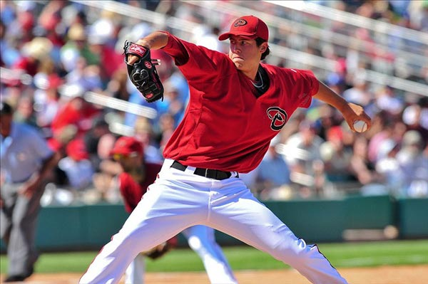 Arizona Diamondbacks pitcher Tyler Skaggs