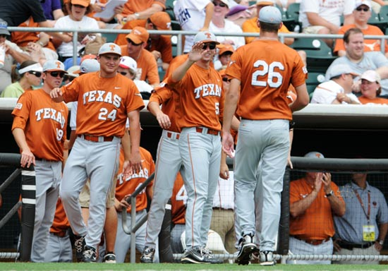 University of Texas Longhorns players