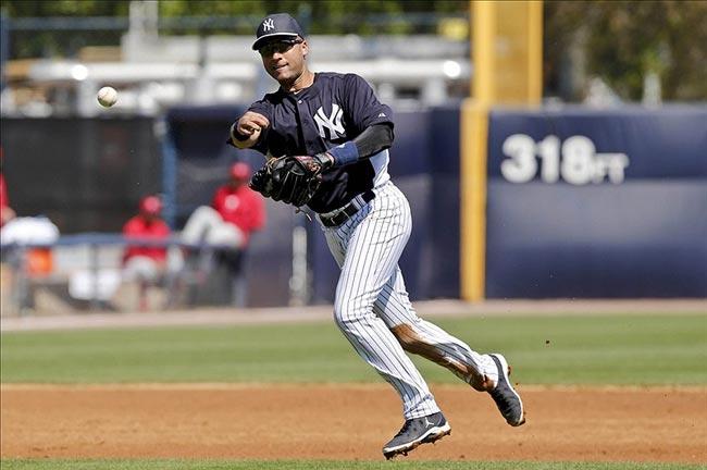 New York Yankees shortstop Derek Jeter